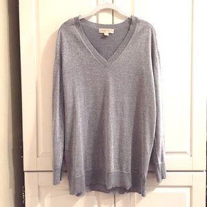 MICHAEL Michael Kors Sparkling Sweater Tunic L